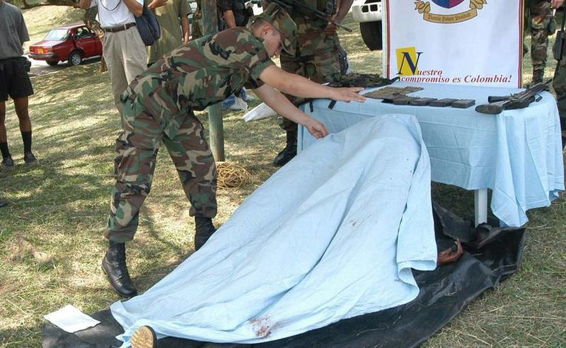Insurgentes de las FARC murieron y otros fueron detenidos en una operación militar y policial efectuada en una zona rural del departamento del Tolima, en el sur de Colombia. (EFE)