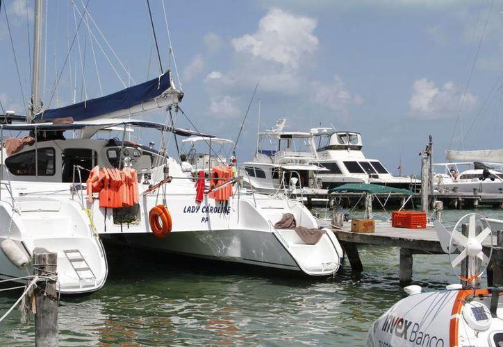 La Asociación de Náuticos de Cancún cuenta con 800 embarcaciones. (Tomás Álvarez/SIPSE)