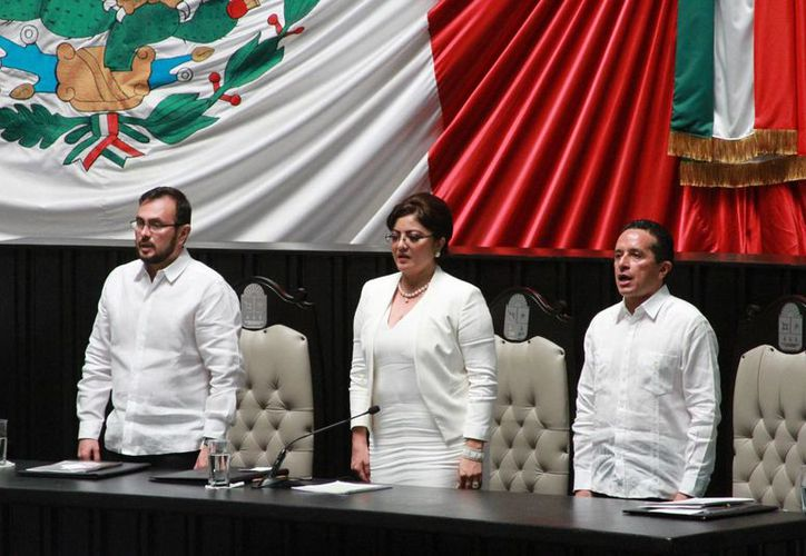El presidente de Poder Judicial de Q. Roo, Fidel Villanueva, ofreció su renuncia para ser investigado; ahora los magistrados lo presionan para que cumpla. (Carlos Horta/SIPSE)