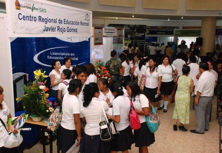 La Exporienta 2013 a nivel estatal recorerá las ciudades de Cancún, Felipe Carrillo Puerto, Playa del Carmen, Cozumel y Chetumal. (Redacción/SIPSE)