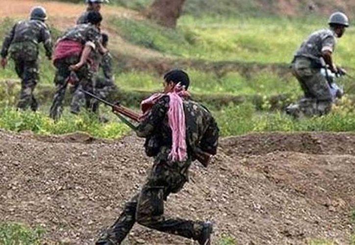 La insurgencia maoísta en la India ha causado alrededor de 12 mil muertos.  (indiatodayflash)