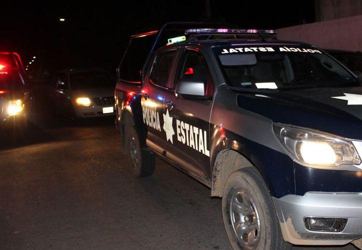 Durante la madrugada, policías estatales detuvieron a menor por portación de marihuana. (SIPSE)