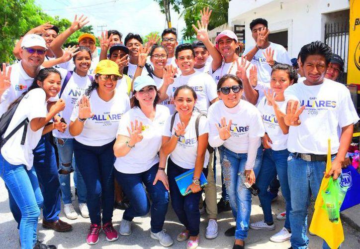 """La candidata a diputada federal por el Distrito 04 de la coalición """"Por Quintana Roo al Frente"""" expuso que una Fiscalía no debe conducirse como un ente que sólo beneficie a determinados grupos. (Redacción/SIPSE)"""