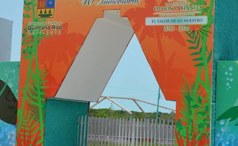Las instalaciones de la Expofer tienen un área definida que el año pasado quedaron abandonadas. (Gerardo Amaro/SIPSE)
