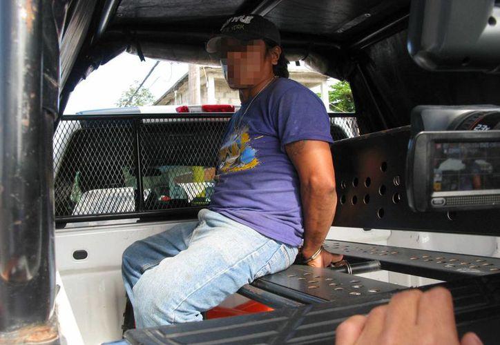 Gonzalo aseguró que no pretendía lastimar a su amigo, sin embargo fue detenido para ser investigado. (Redacción/SIPSE)