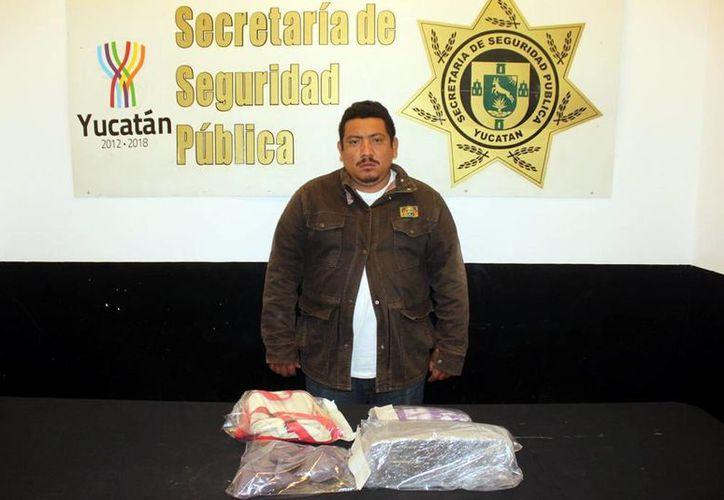 José Luis Martín Cámara tiene un largo historial de robo, daño en propiedad ajena y delitos contra la salud. (Milenio Novedades)
