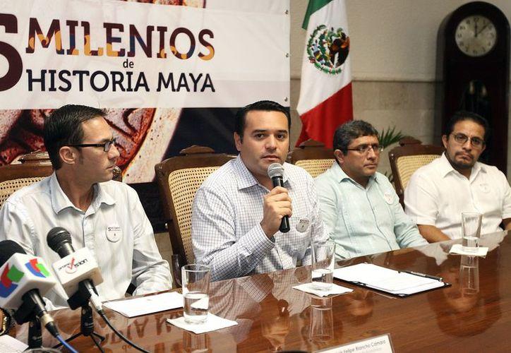 El alcalde Renán Barrera dijo que la jornada integrará el turismo y el desarrollo económico. (SIPSE)