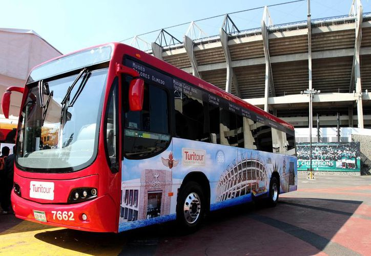 Con las nuevas rutas del Turibús se busca consolidar como destino de clase mundial a la Ciudad de México. (Notimex)