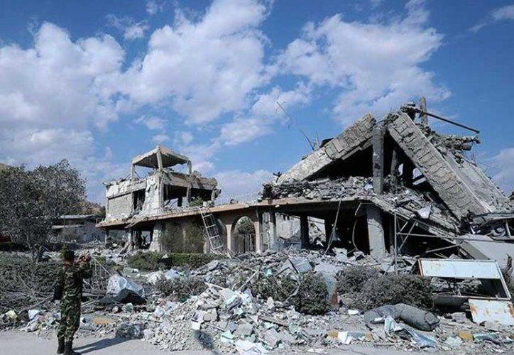 El gobierno ruso señaló que los ataques fueron realizados en zonas sin población civil. (Cuartoscuro)