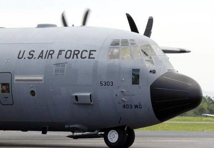 La aeronave W130J apoyará al gobierno mexicano a recolectar información sobre fenómenos meteorológicos. (Twitter.com/@conagua_mx)