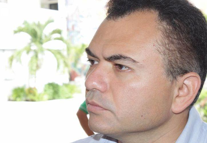 Gabriel Castro Cárdenas, actual tesorero municipal. (Adrián Barreto/SIPSE)