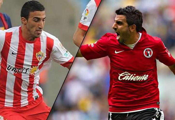 Hernán Pellerano (i) ya ha jugado contra su hermano Cristian (d), pero ahora son parte del mismo equipo en Xolos de Tijuana. (bolavip.com)