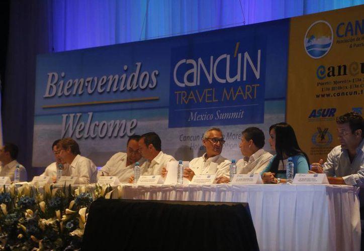 Fue inaugurada la XXVIII edición del Travel Mart, México Summit. (Victoria González/SIPSE)
