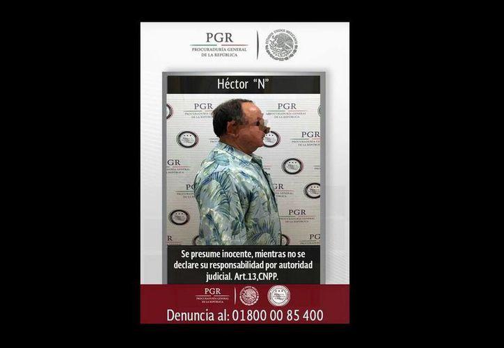 Héctor Ortiz Ciscomani, ex secretario de Agricultura del gobierno de Sonora, fue detenido a su llegada al Aeropuerto de la Ciudad de México procedente de España. (Especial)