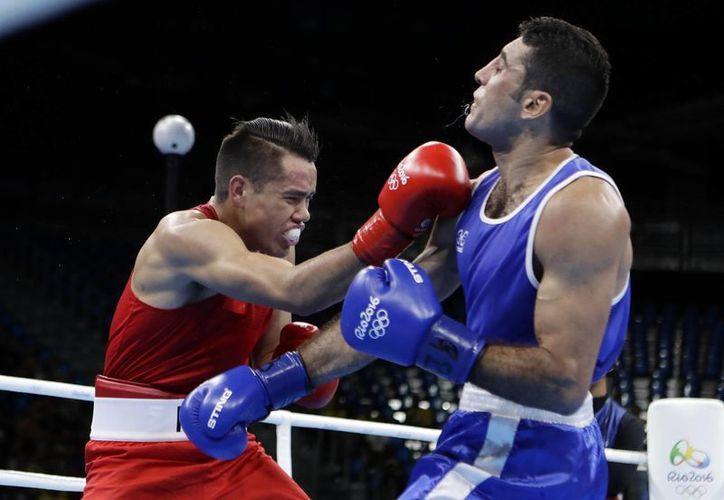 'El chino' Rodríguez enfrentará al irlandés  Michael O'Reilly, el 12 de agosto, en busca de pasar a las semifinales de la disciplina. (Frank Franklin II/AP)