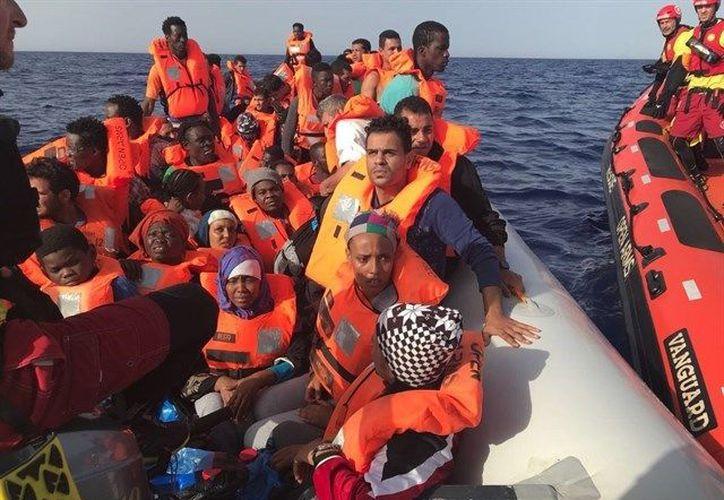 """La organización ha asegurado que están ya de camino a """"puerto seguro"""". (Europa Press)"""
