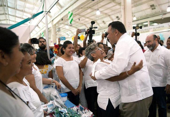El gobernador Rolando Zapata subrayó que la Expo Adulto Mayor ofrecerá dinámicas culturales, deportivas, artísticas y de manualidades, así como laborales. (Foto cortesía del Gobierno estatal)