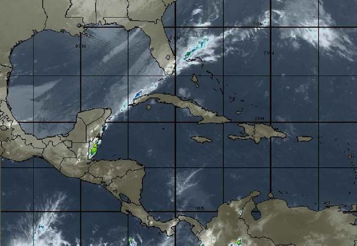 Se espera cielo nublado, con lluvias y chubascos dispersos en Cancún. (Intellicast)