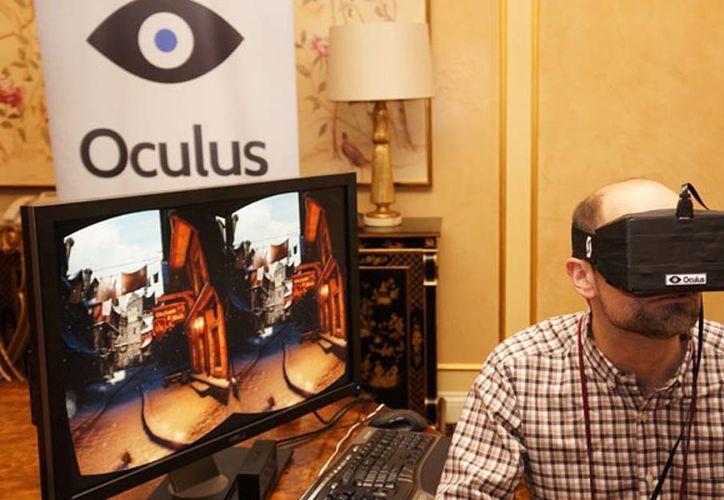 La compañía VR Oculus, desarrolladora de tecnología de realidad virtual en juegos. (Internet)