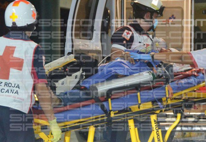 Ambas víctimas recibieron disparos en la cabeza. (Enrique Castro/ SIPSE)