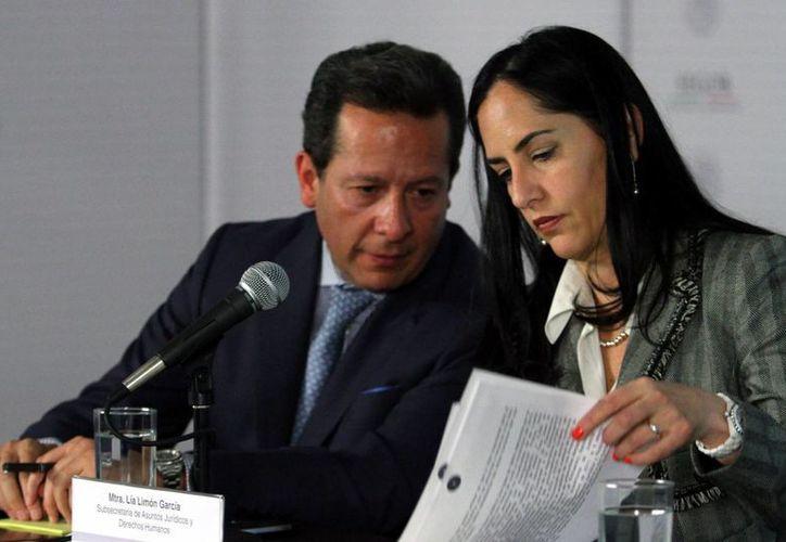 Lía Limón informó que la búsqueda de una sola persona es prioridad para el Gobierno federal. (Notimex)
