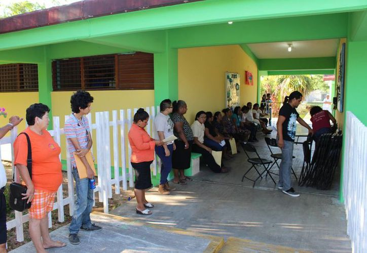 Las actividades electorales se desarrollan con normalidad. (Miguel Maldonado/SIPSE)