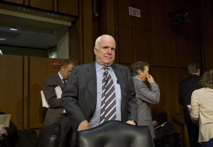 """John McCain asegura que """"""""No soy antirruso. Soy prorruso"""". (Archivo/EFE)"""