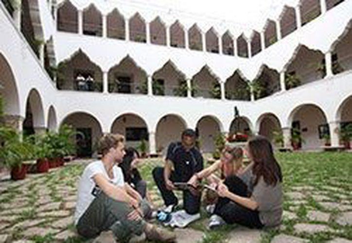 Entre los 70 estudiantes extranjeros que estarán de seis meses hasta un año en Yucatán hay argentinos, colombianos y brasileños. (SIPSE)