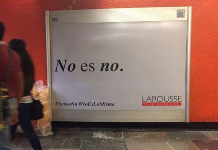 Con estas 'crueles frases', la marca famosa de diccionarios, pretende crear conciencia en los actos machistas contra las mujeres. (Foto: El Español).
