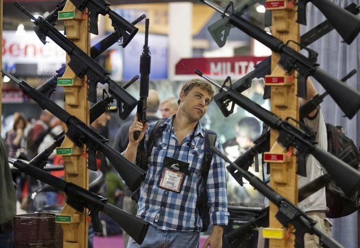 Los partidarios de las propuestas de control de armas de fuego del presidente Barack Obama planean una metódica campaña estado por estado. (Agencias)