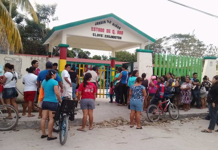 Las escuelas de Tulum abrirán este 16 y 17 de febrero normalmente. (Rossy López/SIPSE)