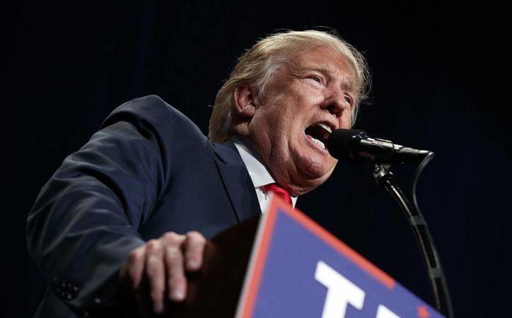 Donald Trump ha perdido el respaldo de políticos de alto nivel debido a sus polémicas declaraciones. (AP/Evan Vucci)