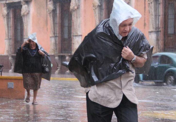 De acuerdo con los pronósticos, continuarán las lluvias aunque ya no tan severas como en días anteriores. (José Acosta/SIPSE)