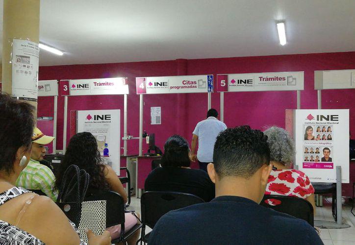 Alrededor de dos mil ciudadanos solicitaron corregir su información.  (Octavio Martínez/SIPSE)
