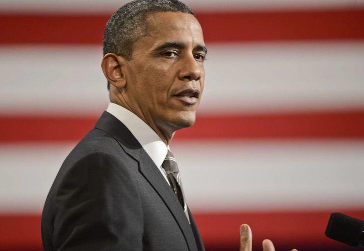 El presidente de los Estados Unidos Barack Obama