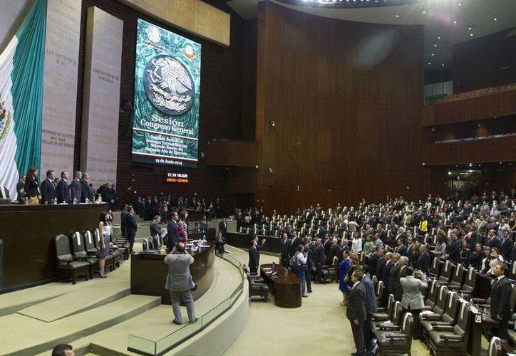 La realización del periodo extraordinario se aprobó en el Congreso de la Unión con 29 votos a favor, 1 en contra y cero abstenciones. (Notimex)