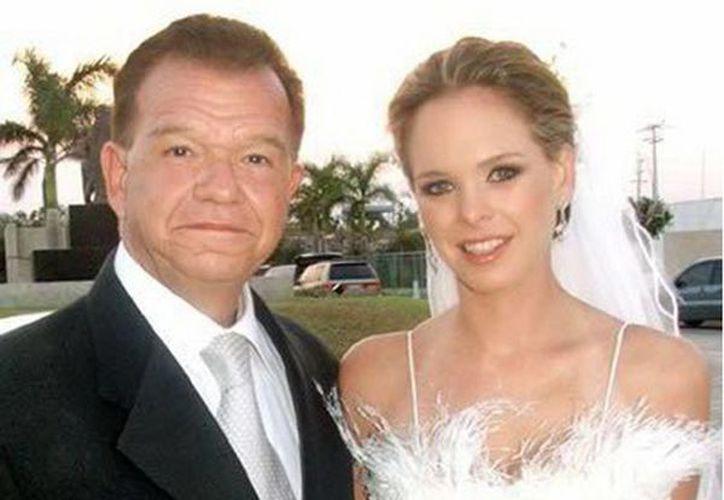 Mariana Granier Calles, con su padre, Andrés Granier Melo. (Facebook)