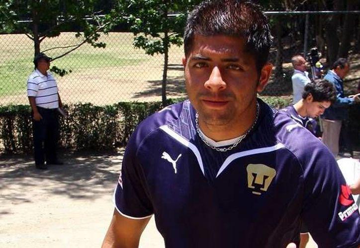 El portero Odín Patiño, nuevo refuerzo del CF Mérida, debutó en la Primera División el 9 de noviembre de 2002 con Pumas de la UNAM. (Mexsport)