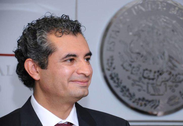 Se espera que Enrique Ochoa Reza resulte electo como titular del Revolucionario Instiucional, tras la renuncia de Manlio Fabio Beltrones. (Archivo/Agencias)