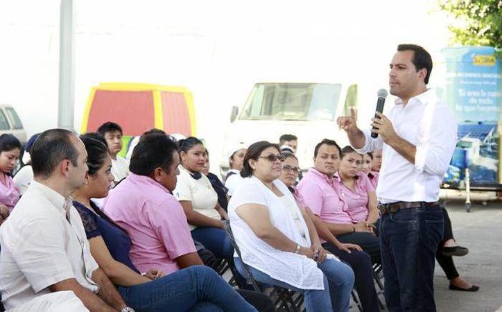 En el marco de su viaje a Estados Unidos por invitación de migrantes, el alcalde Mauricio Vila acudirá a un Foro Empresarial y de Negocios y se reunirá con agrupaciones y autoridades. (SIPSE/Archivo)