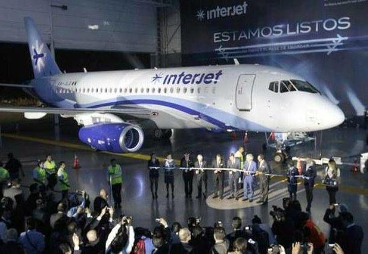 El nuevo vuelo de Interjet empezará a operar a partir del mes de junio. (Foto/Internet)