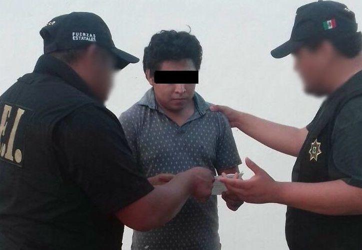 Se le acusa del delito de homicidio calificado en contra del E.K.M, ocurrido la semana pasada en la colonia García Ginerés. (SIPSE)
