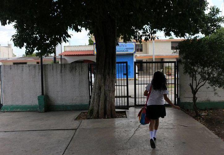 De acuerdo con las estadística sobre 'bullying' en México, la mayor parte de los casos de maltrato se dan en niños, aunque las niñas no están exentas. (Foto de contexto/Mauricio Palos-SIPSE)