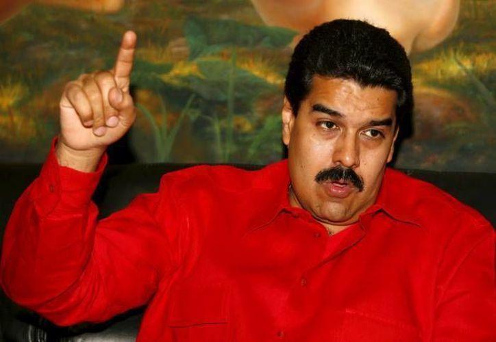 Maduro asegura que el contenido de la televisión incita al odio y la violencia social. (Archivo/Agencias)