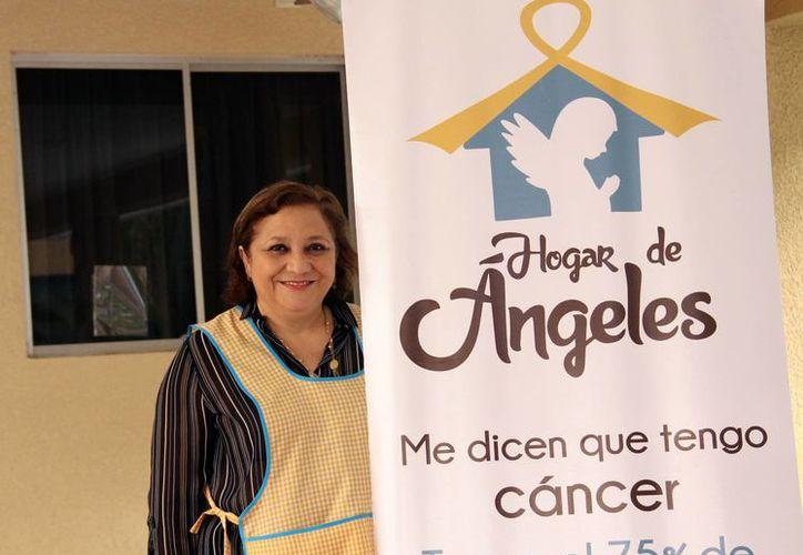 María Cristina Rosado Garma(foto), impulsora del albergue, comentó que por el momento se encuentran alojados 4 pacientes con sus familiares. (Sipse.com)