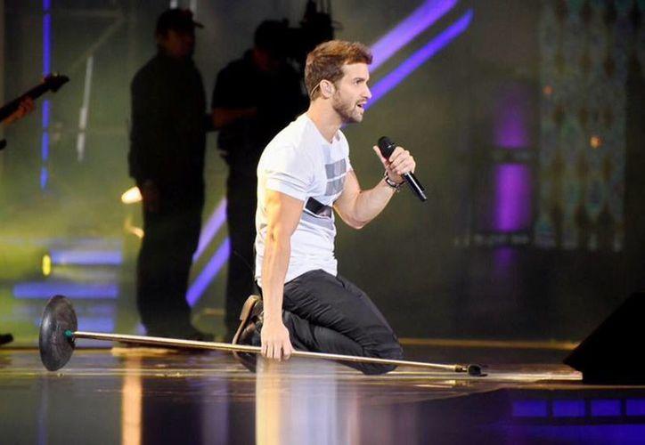 Pablo Alborán conquistó con sus melodías románticas en el Festival de Viña del Mar. (twitter/@vitocallejon)