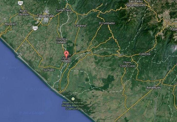 Tras el terremoto registrado este sábado por la mañana en Chiapas, aún no hay registro de personas lesionadas. (Google Maps)