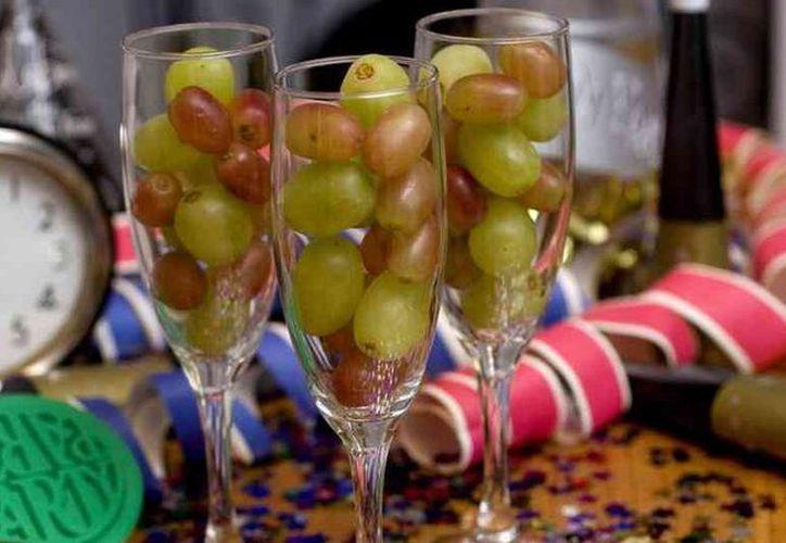 Después de la fiesta de Año Nuevo, los precios de las uvas bajan estrepitosamente. (Agencias)