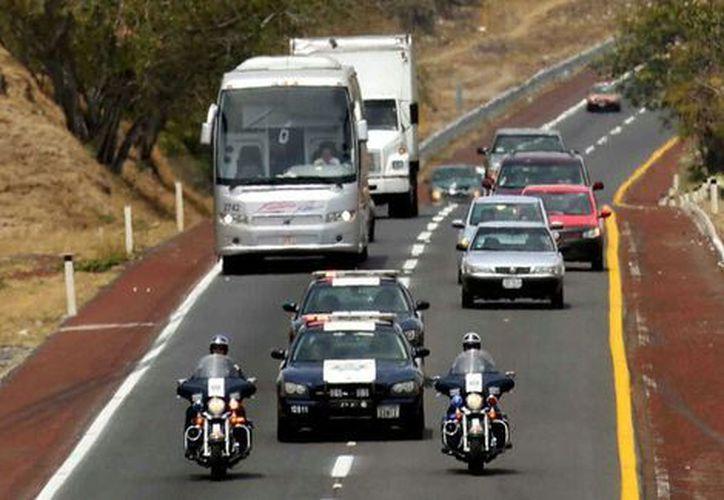 Piden a los conductores extremar precauciones en las carreteras. (Milenio.com)