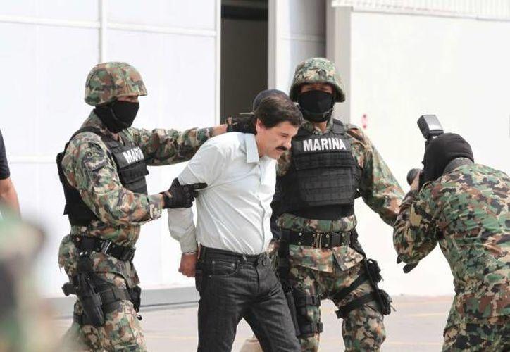 """Joaquín """"El Chapo"""" Guzmán fue detenido en febrero en un hotel de Mazatlán. (Archivo/Notimex)"""